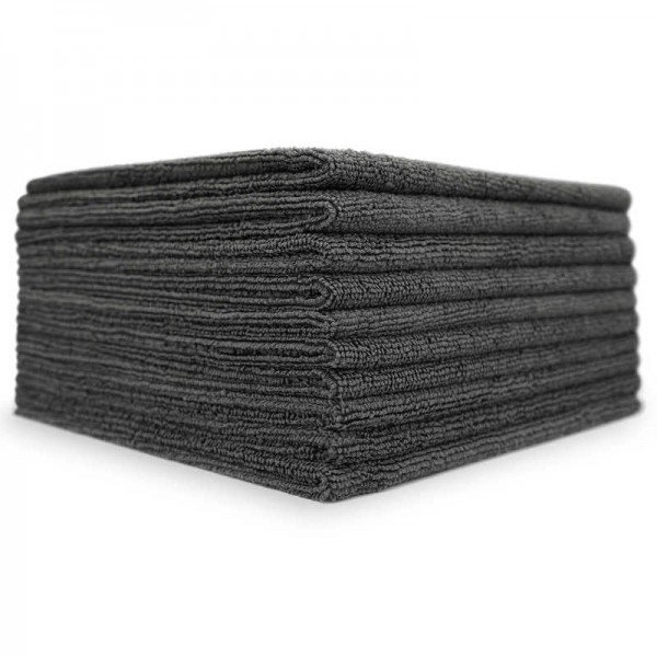 The Collection Coating & Allround Towels Grau 10STK. 40x40cm