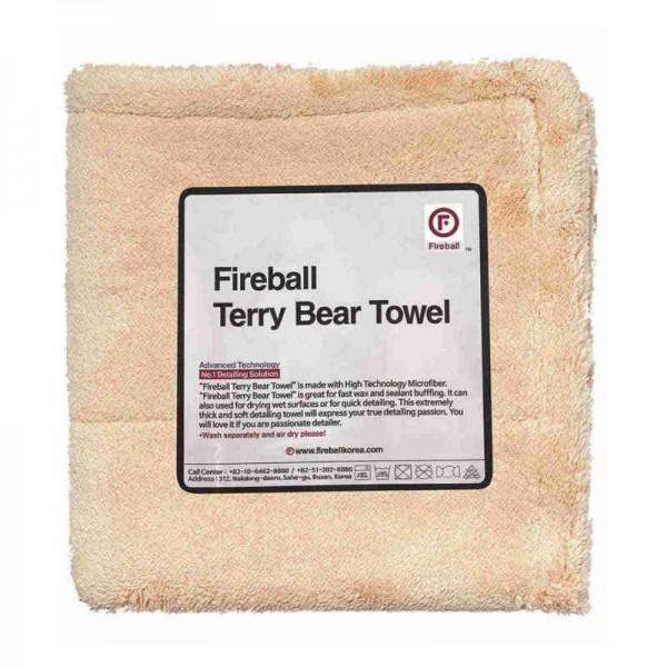 Fireball Terry Bear Mikrofasertuch 40 x 40 cm