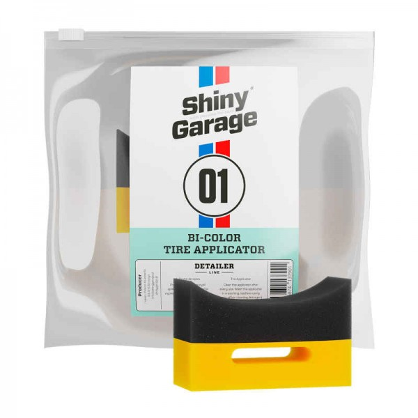 Shiny Garage Bi Color Reifen Applikatorpad