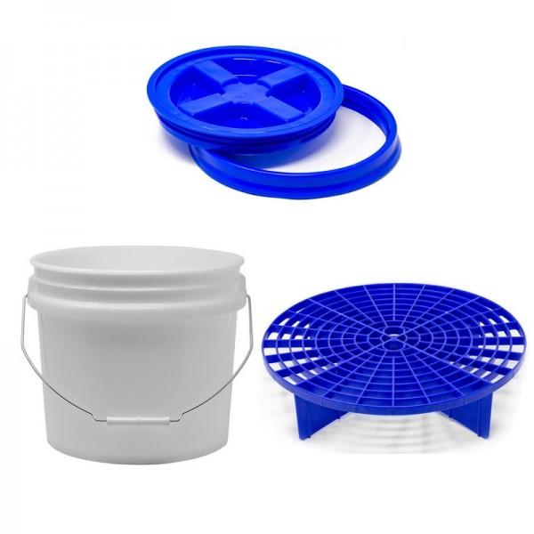 Wascheimer Set blau