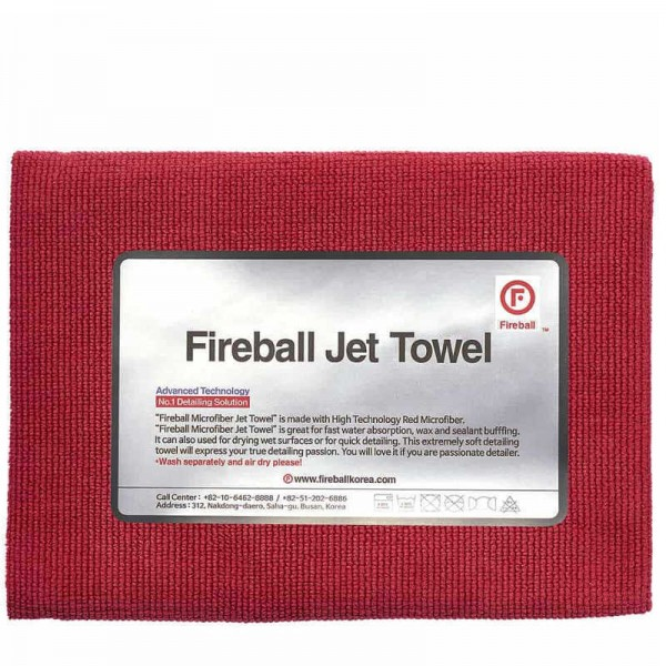 Fireball Jet Allzwecktuch Rot 60 x 42 cm