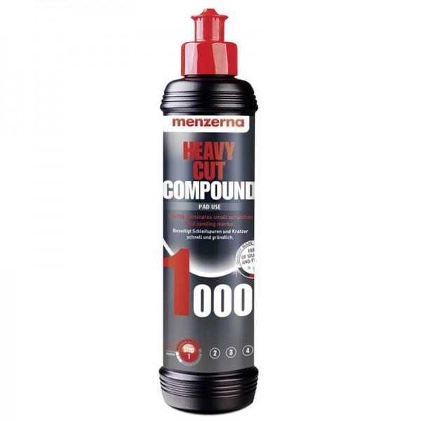 Menzerna 1000 Heavy Cut Compound 250ml