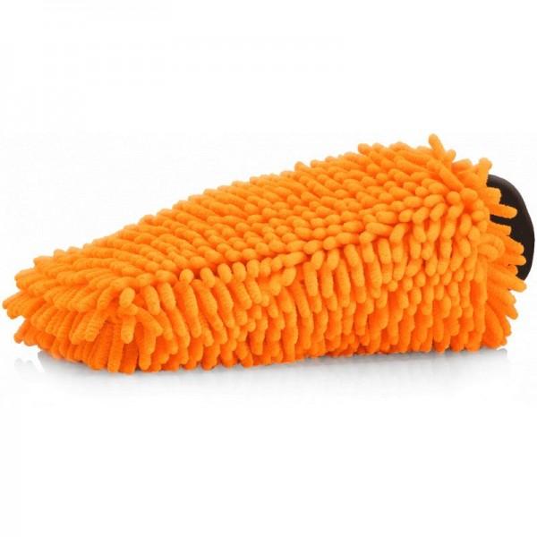 Nuke Guys - Chenille Waschhandschuh orange