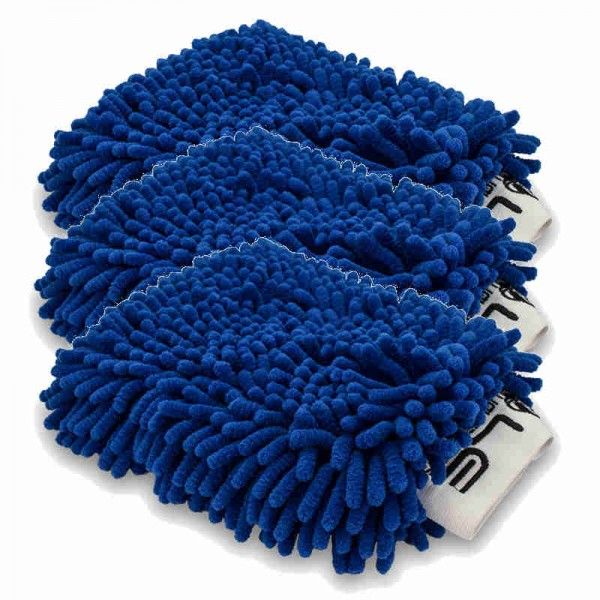 Liquid Elements Chubby 2.0 Mikrofaser Waschhandschuh 3 für 2