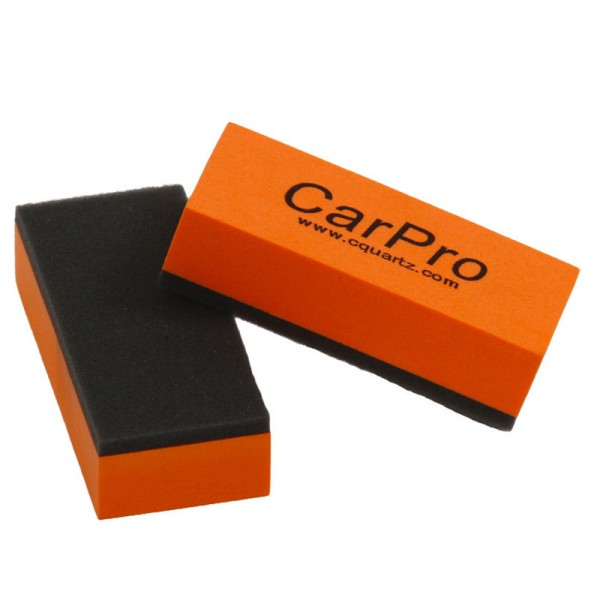 CarPro Coating Pad Applikator Schwamm orange