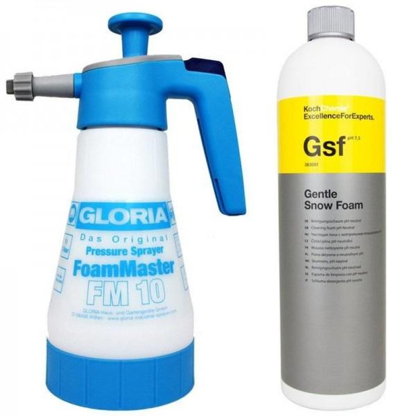 Gloria FM10 Foamer + Koch Chemie GSF Gentle Snow Foam