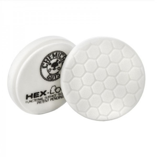 Chemical Guys HEX Logic Medium Polishing Pad 125 mm Weiß