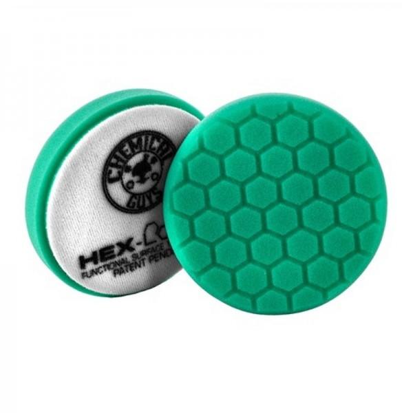 Chemical Guys HEX Logic Heavy Polishing Pad 125mm Grün