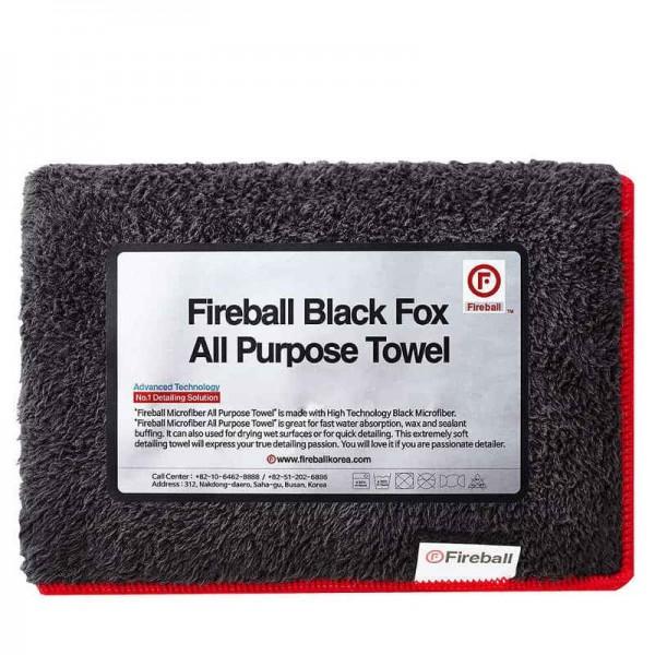 Fireball Black Fox Allzwecktuch 75 x 40 cm
