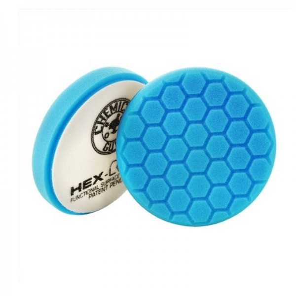 Chemical Guys HEX Logic Soft Polishing Pad 125 mm Blau