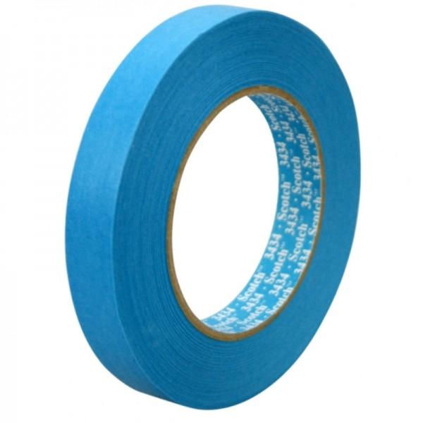 3M Scotch Tape 3434 blaues Polierklebeband blau 24mm x 50m