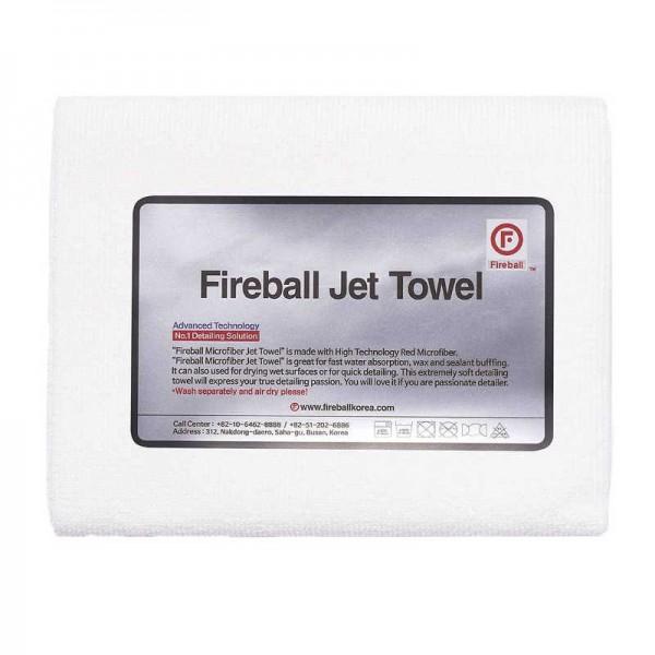 Fireball Jet Allzwecktuch Weiß 60 x 42 cm