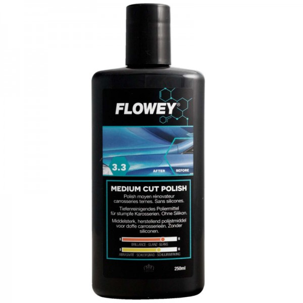 Flowey Medium Cut Feinschleifpolitur