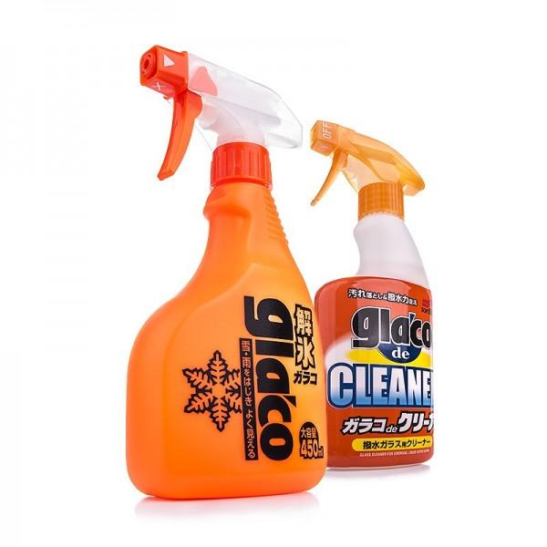 Soft99 Glaco De Icer + De Cleaner Set