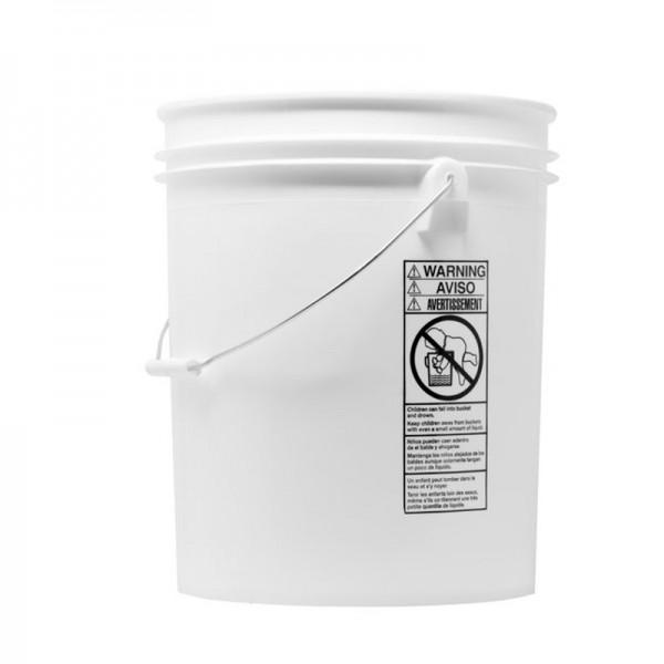 Grit Guard Wascheimer 19 Liter Weiß